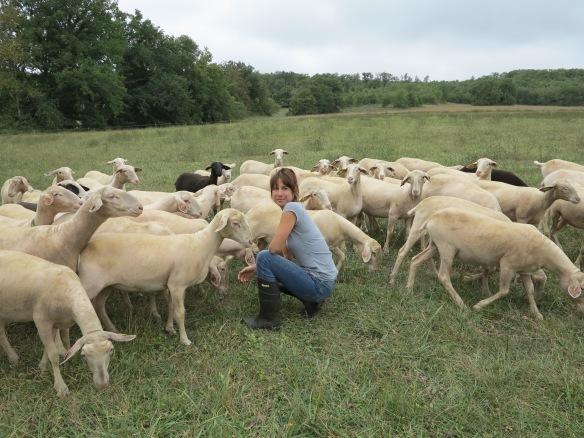 erika avec agnelles